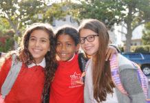 Harkham Hillel Hebrew Academy students