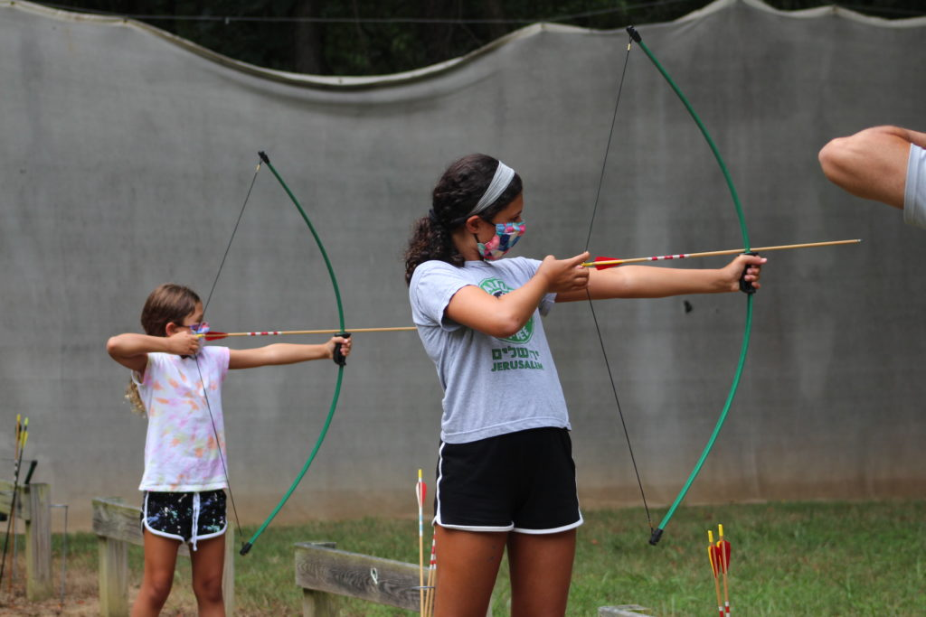Campers attend Capital Camps' summer 2020 session