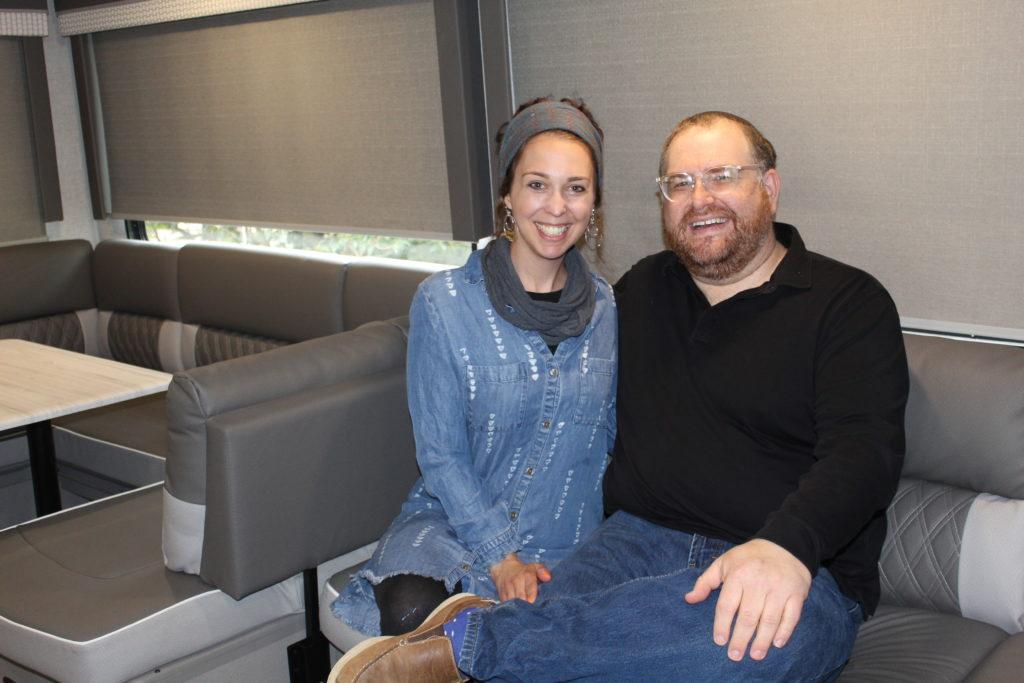 Talya and Dave Weinberg
