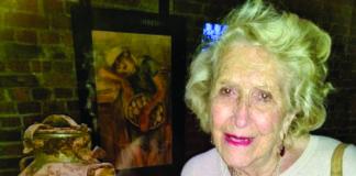 Ida Schmidt-Chait at the U.S. Holocaust Memorial Museum
