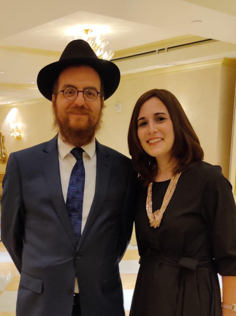 Rabbi Levi Druk and Chani Druk of Chabad of Downtown