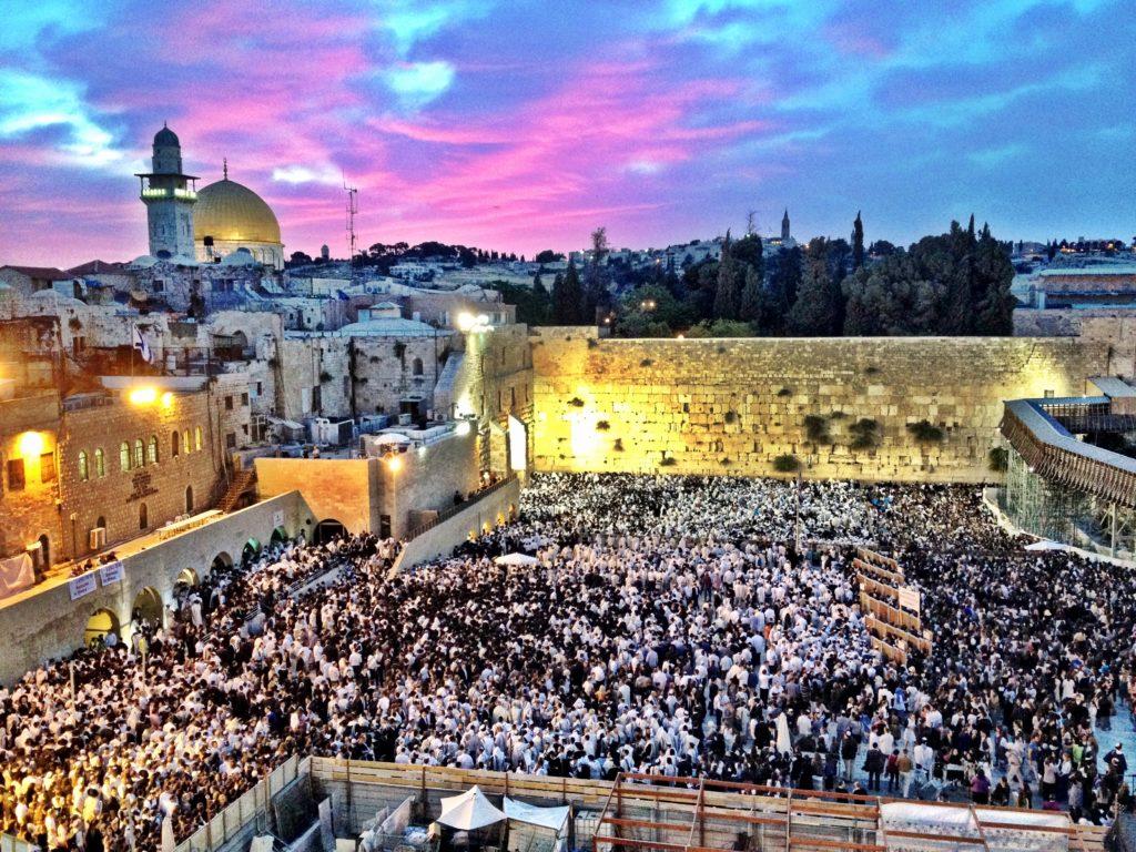 Celebration of Shavuot in Jerusalem, May 26 2012