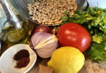 Ingredients for piyaz
