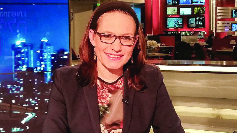 Sivan Rahav Meir is a Jerusalem-based media personality and lecturer.
