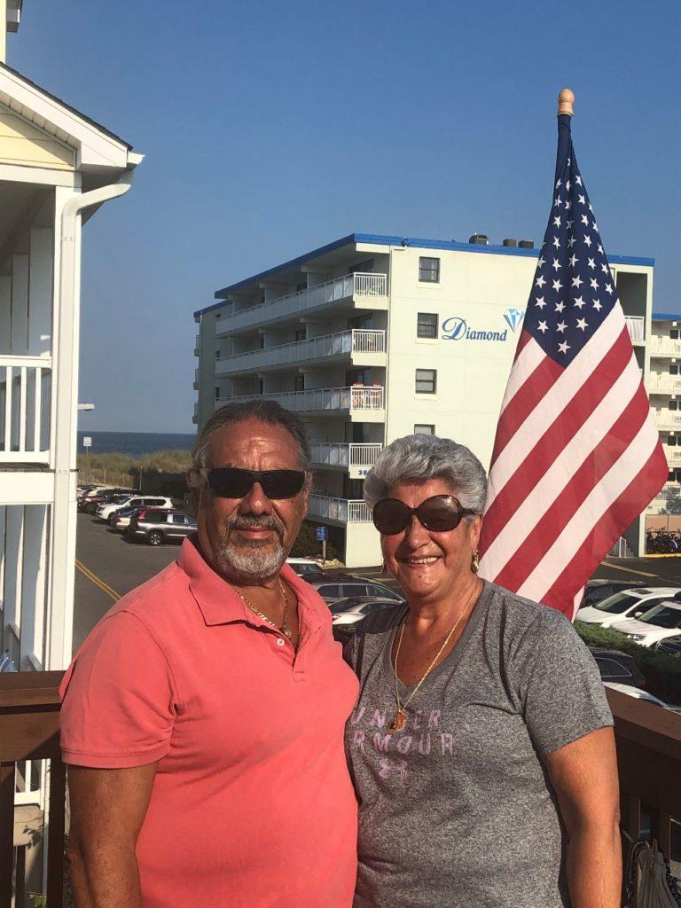 Elie Pallia and his wife Ziza