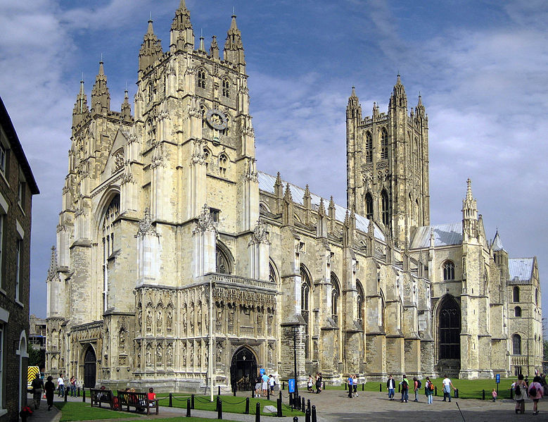 Canterbury Cathedral, seat of the Church of England in London