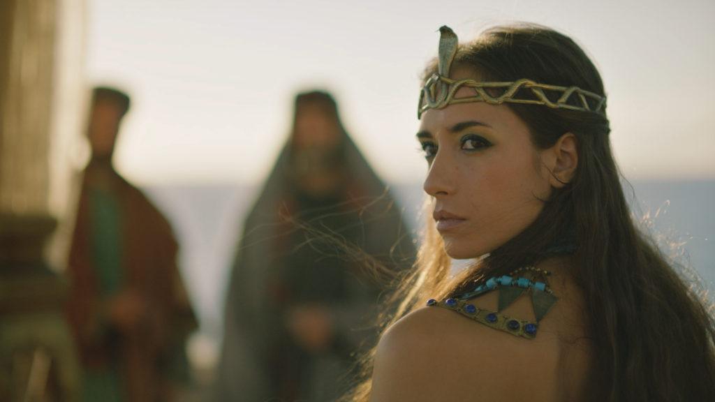 Cleopatra in CNN's Jerusalem