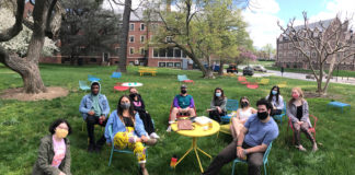 Towson Hillel students