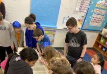 Bet Chaverim Religious School students
