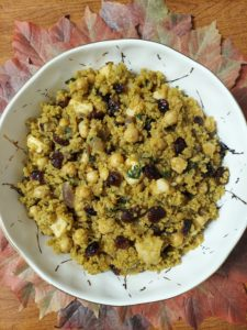 Middle Eastern quinoa