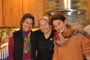 From left: Louise Cord, Edith Mayer Cord and Emily Cord-Duthinh