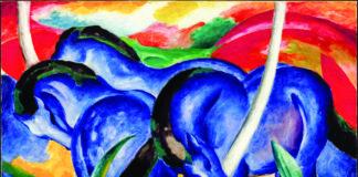 "Franz Marc, ""The Large Blue Horses"""