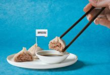 Impossible Pork dumplings