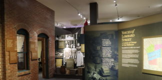 """The Jewish Museum of Maryland's """"Voices of Lombard Street"""" exhibit"""