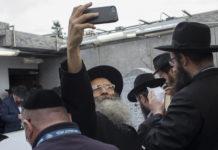 Orthodox Jewish man takes a selfie